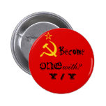 Become one with? Y / Y 2 Inch Round Button
