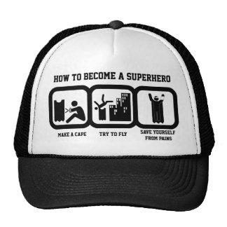 Become Superhero Trucker Hat