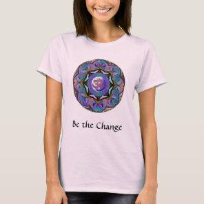 Become the Change ~ Moon Mandala T-Shirt