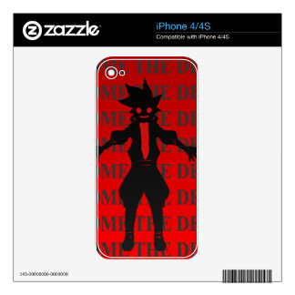 Become the demon skins for iPhone 4S