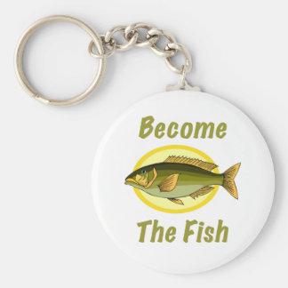 Become The Fish Keychain