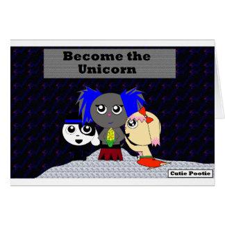 Become the Unicorn Card