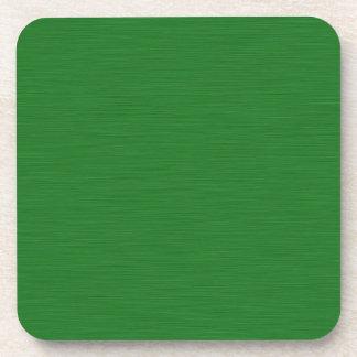 Becomes green Holzmaserung Beverage Coaster