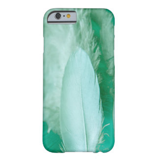 Becomes green mobile phone covering with feather barely there iPhone 6 case