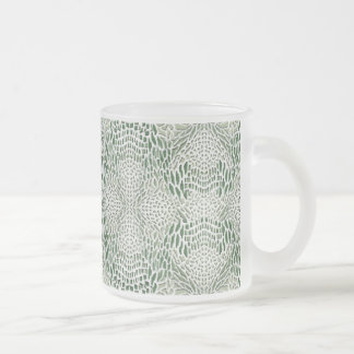 becomes green queue skin frosted glass coffee mug