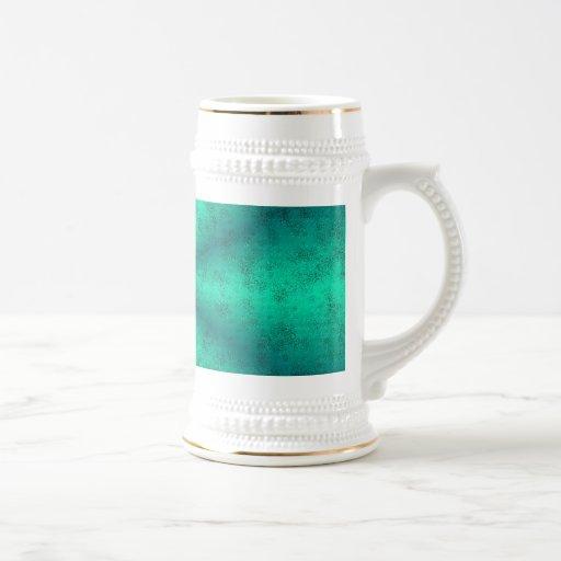 Becomes green rainbow in elephant Skin leather opt Coffee Mug