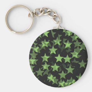becomes green stars keychain