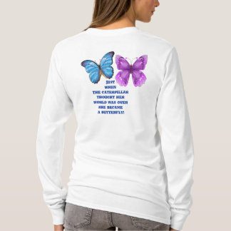 Becoming a butterfly T-Shirt