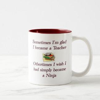 Becoming a Teacher Two-Tone Coffee Mug
