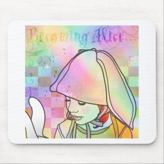Becoming Alice Mouse Pad