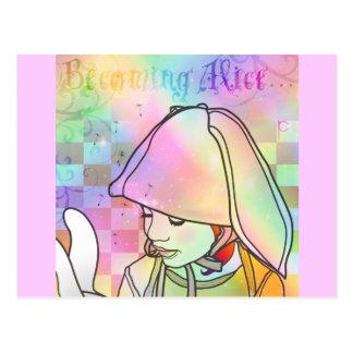Becoming Alice Postcard