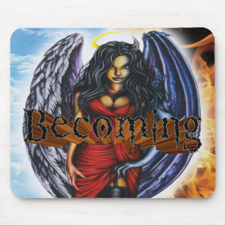 BECOMING - Angel Demon Mouse Pad