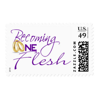 Becoming One Flesh Postage Stamp