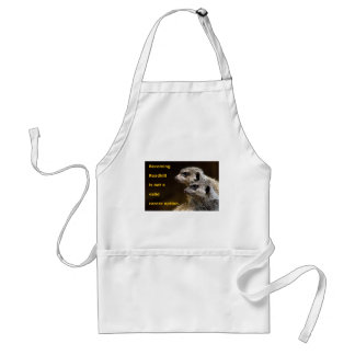 Becoming Roadkill Is Not A Valid Career Option Adult Apron