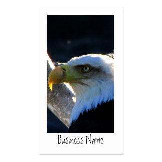 BECU Bald Eagle Close-Up Business Card