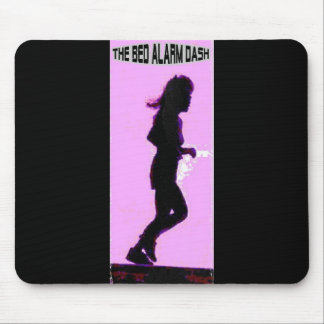 Bed Alarm Dash In Pink Mouse Pad