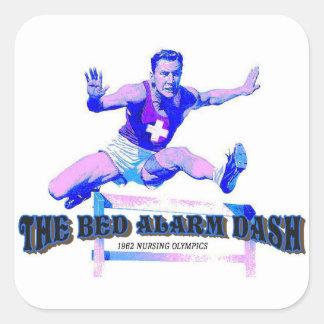 Bed Alarm Dash Vintage Nursing   Sticker