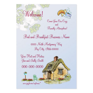 Bed and Breakfast Business Card Or