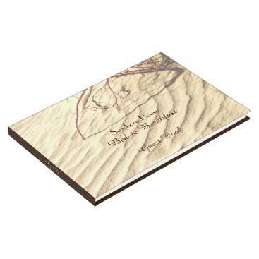 Beach Themed Bed & Breakfast B&B Guest Book Ripples in the Sand