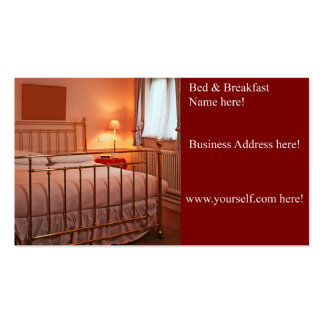Bed & Breakfast business card