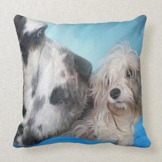 Bed Buddies Art Decorator Pillow