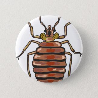 Bed Bug Sketch Button