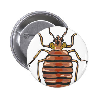 Bed Bug Sketch Button