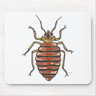 Bed Bug Sketch Mouse Pad
