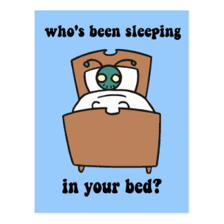 Bed bugs postcard