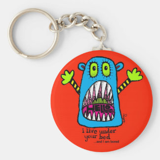 Bed Monster Keychain