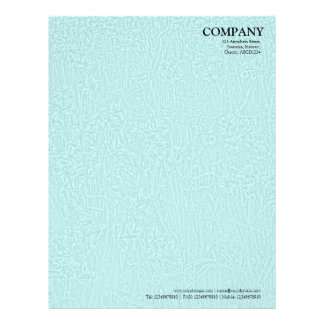 Bed of Daffodils Texture - Pale Blue Letterhead
