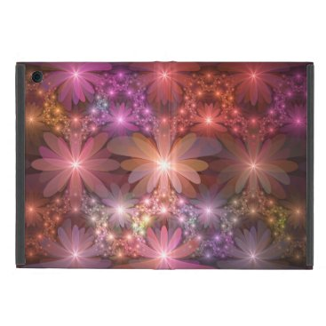 Bed Of Flowers Colorful Shiny Abstract Fractal Art Case For iPad Mini