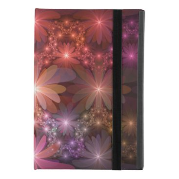 Bed Of Flowers Colorful Shiny Abstract Fractal Art iPad Mini 4 Case