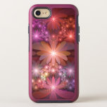 Bed Of Flowers Colorful Shiny Abstract Fractal Art OtterBox Symmetry iPhone SE/8/7 Case