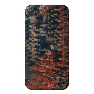 Bed of Justice Held at the Parlement de Paris iPhone 4/4S Case