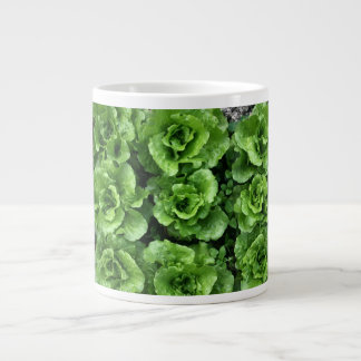 Bed of lettuce 20 oz large ceramic coffee mug