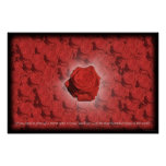 Bed of Roses #3 Posters