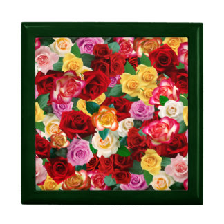 Bed of Roses Large Tile Gift Box