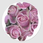 Bed of Roses Round Sticker