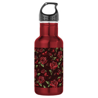 Bed of Roses Stainless Steel Water Bottle