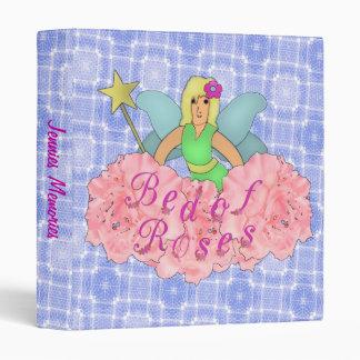 Bed of Roses Vinyl Binder