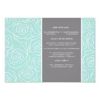 Bed of Roses Wedding Invitation - scandel