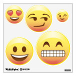Bed Room Makeover Emoji Wall Decals Happy Emotions<br><div class='desc'>Time to redo that room,  and bring a smile to everyone&#39;s face.</div>
