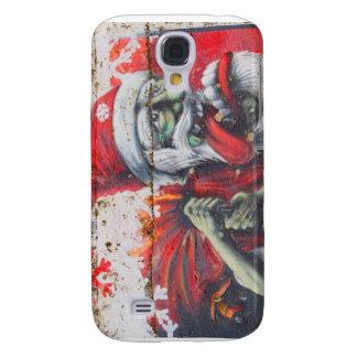 Bed Santa Claus Samsung Galaxy S4 Case