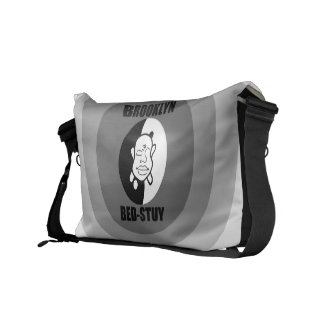 Bed Stuy BK Buddha Courier Bags