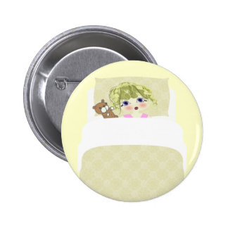 Bed Time! Pinback Button