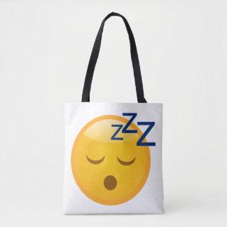 Bed Time Emoji Tote Bag