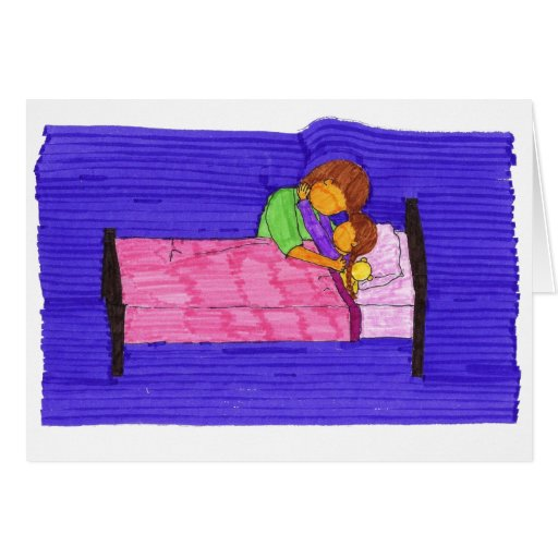 Bed Time Greeting Card