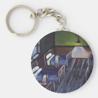 BED TIME IN THE CHILDRENS HOME KEYCHAIN