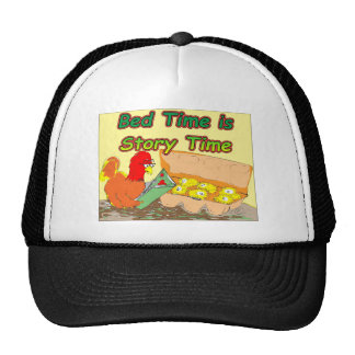 Bed Time is Story Time Trucker Hat